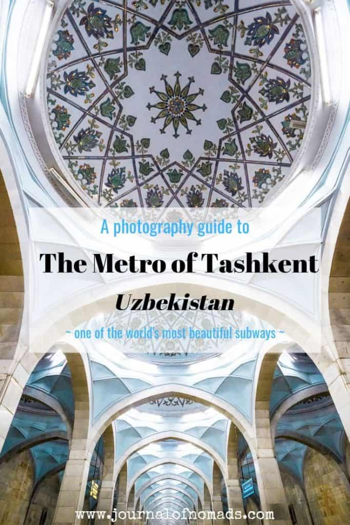Tashkent Metro - Photography guide to the metro stations in Tashkent Uzbekistan - Journal of Nomads