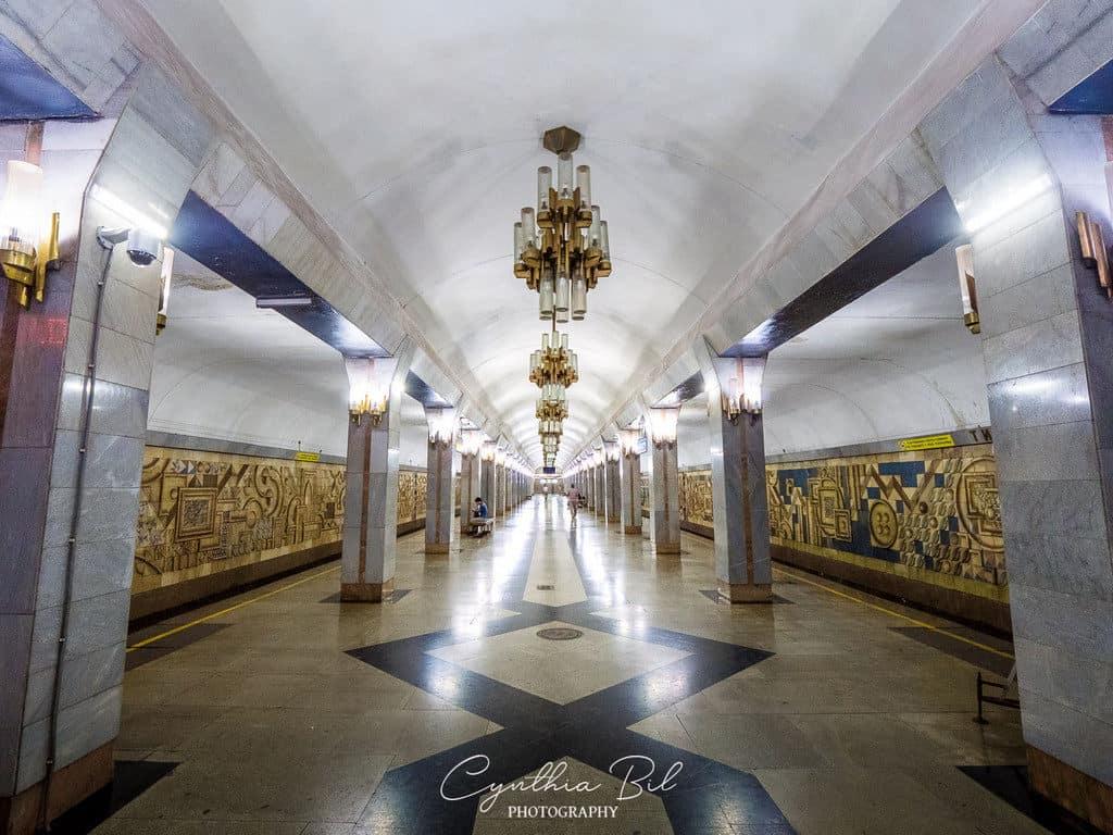 Tinchlik Metro Station Tashkent beautiful metro stations in the world - Journal of Nomads