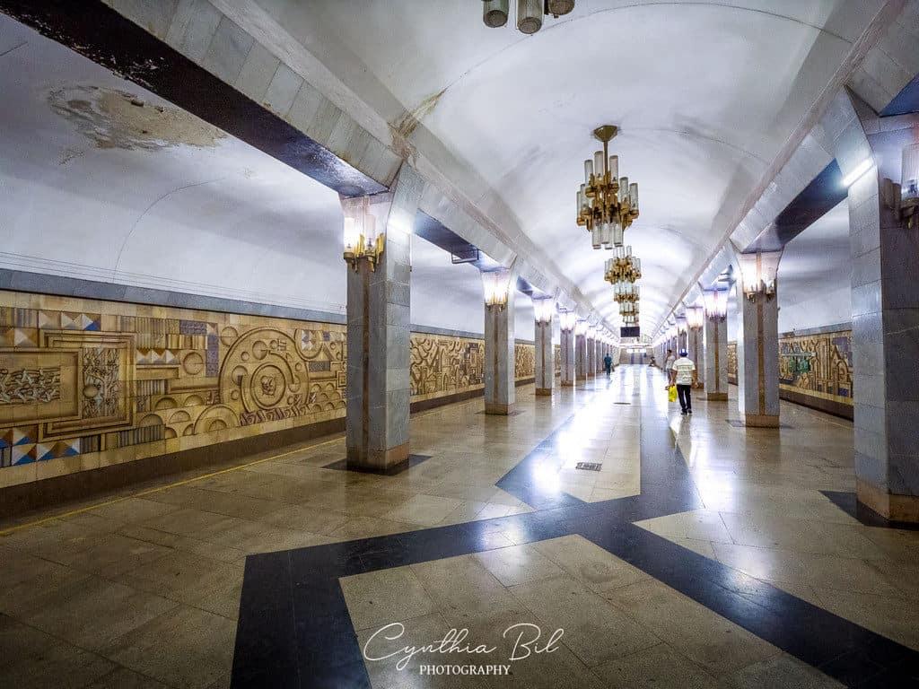 Tinchlik Metro Station - Beautiful photos Metro Tashkent - Journal of Nomads