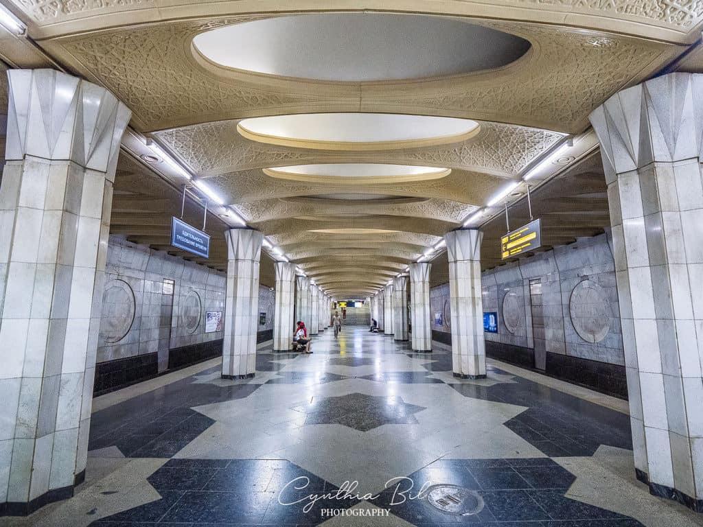 Xalqlar Do'stligi Metro Station Tashkent - Journal of Nomads