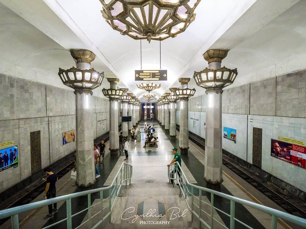 Photo ban lifted in Tashkent Metro Uzbekistan - Photos of Metros in Tashkent - Journal of Nomads