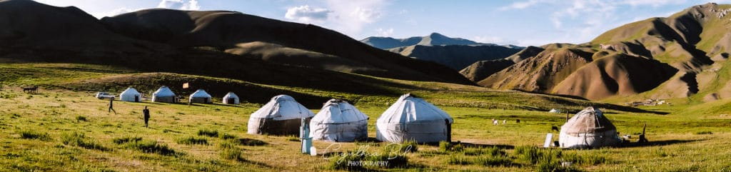 Kyrgyzstan Travel Tour - Staying in yurt camps