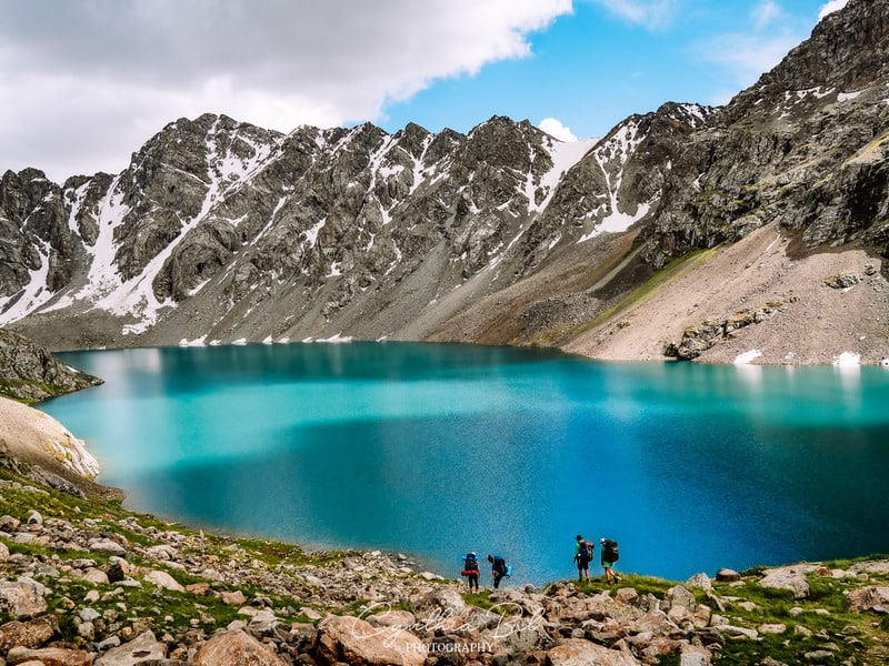 turquoise lake Ala Kul - Journal of Nomads
