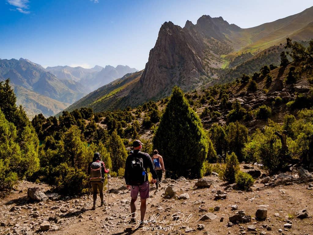 Hiking in the Fann Mountains Tajikistan