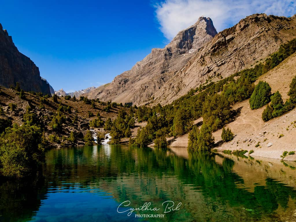 Hiking to the Alauddin Lakes Fann Mountains Tajikistan