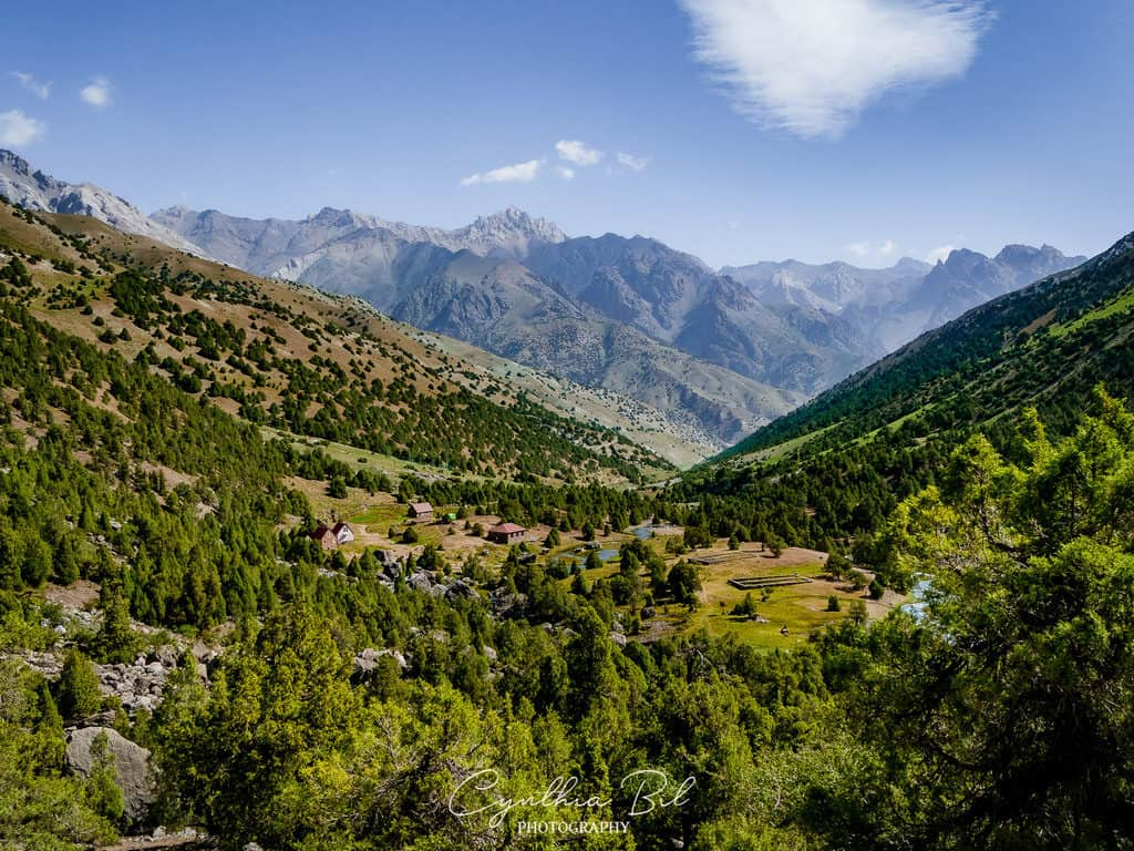 Vertical Basecamp Fann Mountains Tajikistan