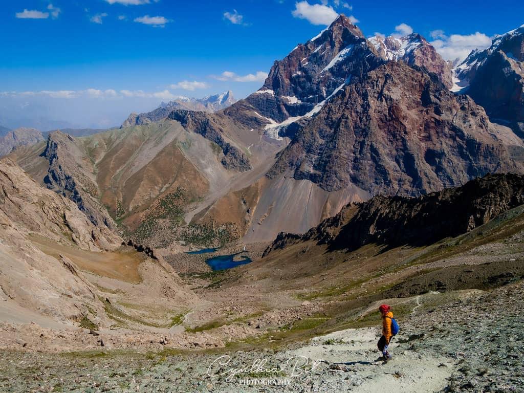 Trekking to Alauddin Lake Fann Mountains Tajikistan