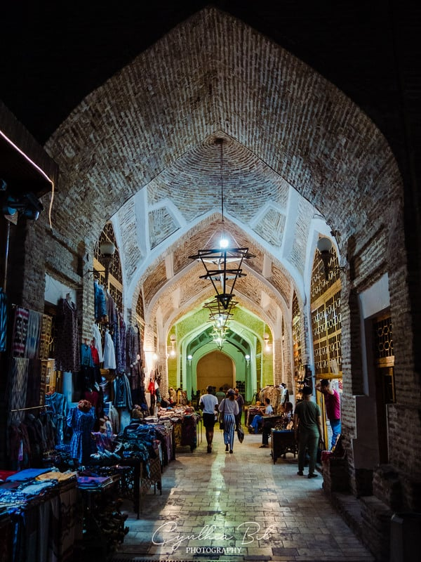 markets of Bukhara