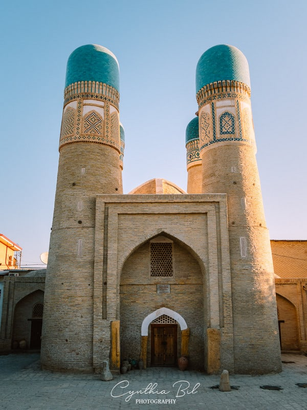 interesting architecture of Bukhara
