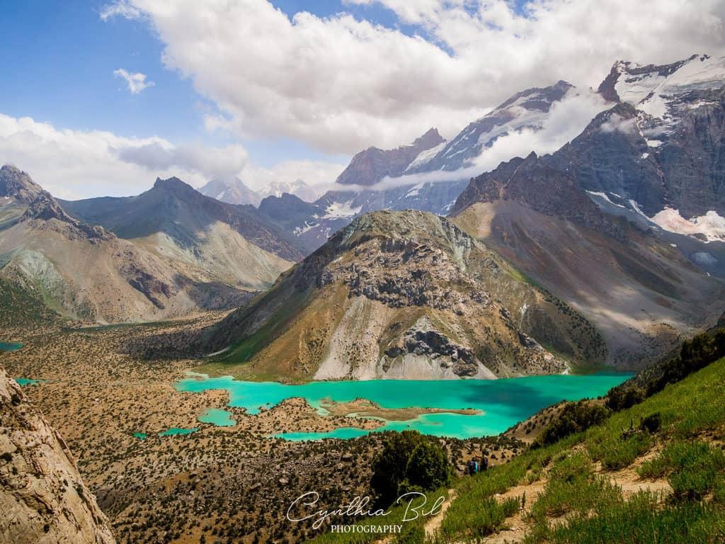 Hiking to Kulikalon Lakes crossing Chukurak Mountain Pass Fann Mountains
