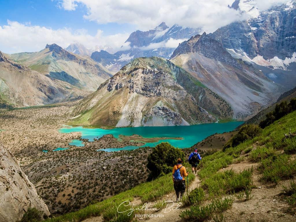 Trekking to Kulikalon acrss Chukurak Mountain Pass