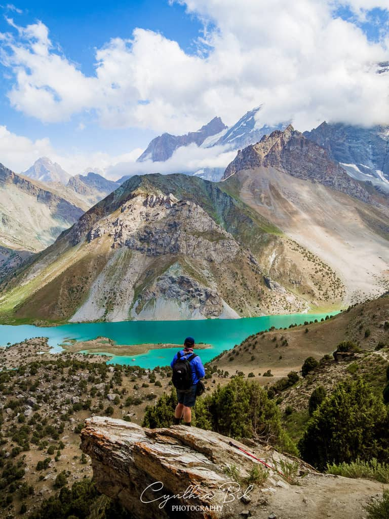 Trekking in the Fann Mountains Tajikistan - Chukurak Mountain Pass
