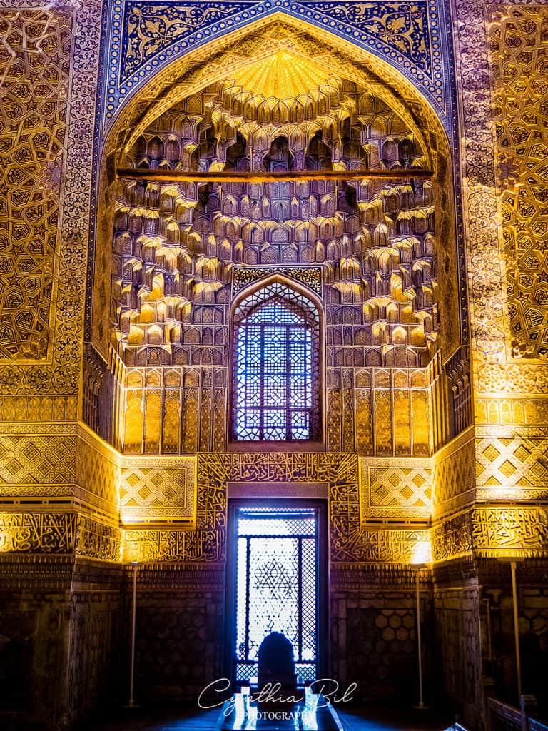 Mausoleum Amir Timur - Interior Gur-e-Amir Samarkand Uzbekistan - Journal of Nomads