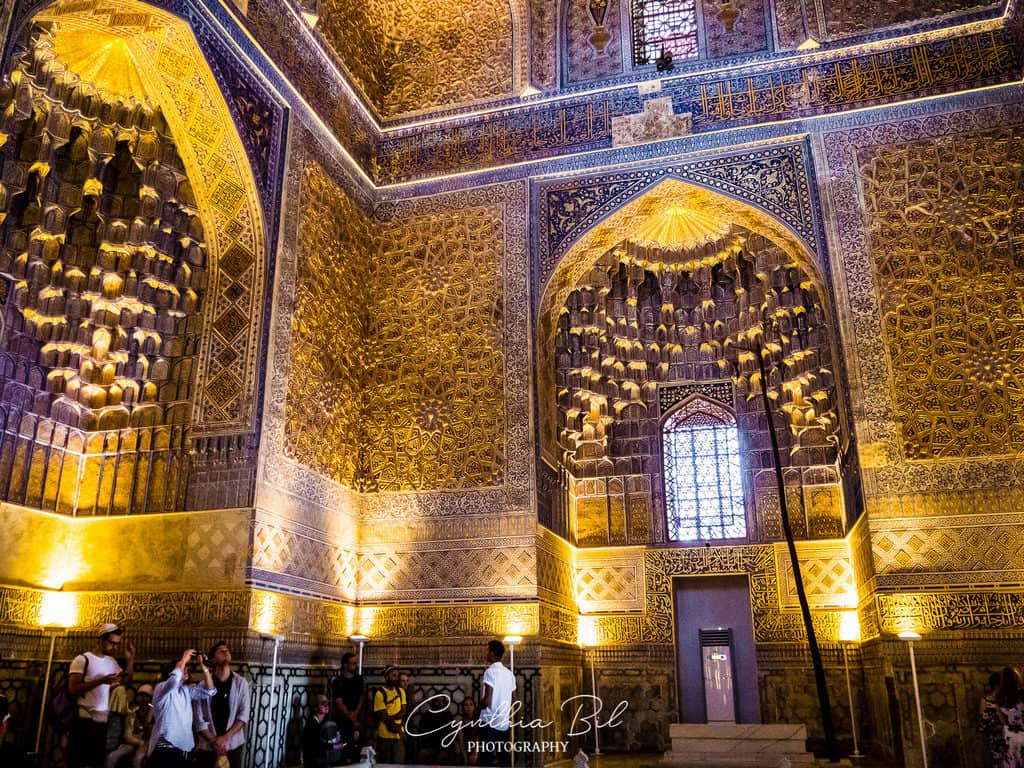 Interior Gur-e-Amir Samarkand Uzbekistan - Journal of Nomads