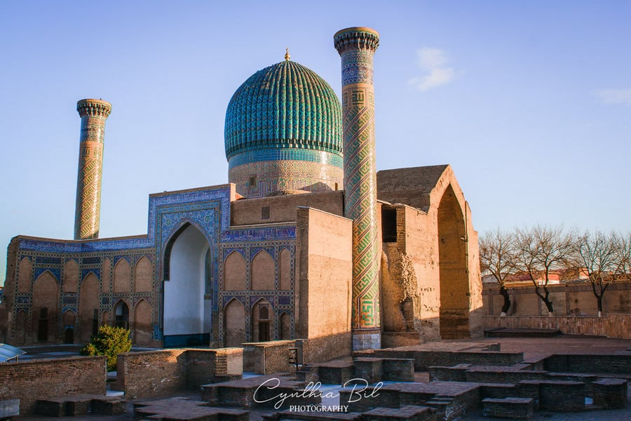 Gur-e-Amir Places of interest Samarkand Uzbekistan