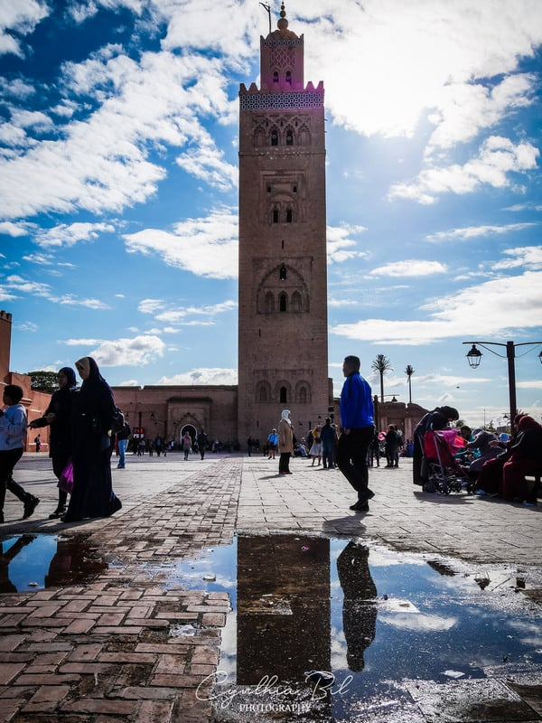 koutoubia mosque - stunning architecture of morocco