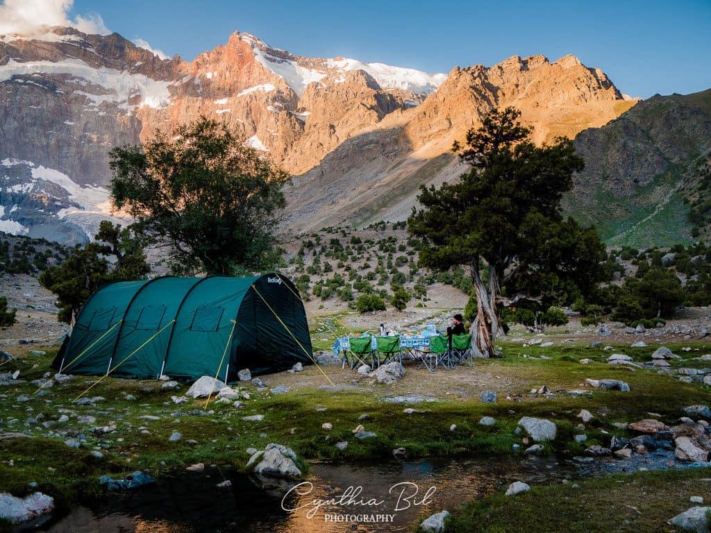 Fann Mountains Tajikistan Kulikalon Lakes