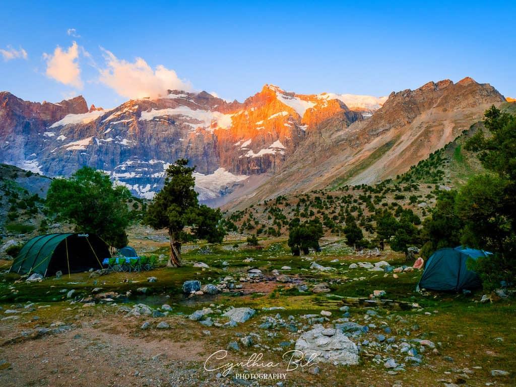 Camping in Tajikistan
