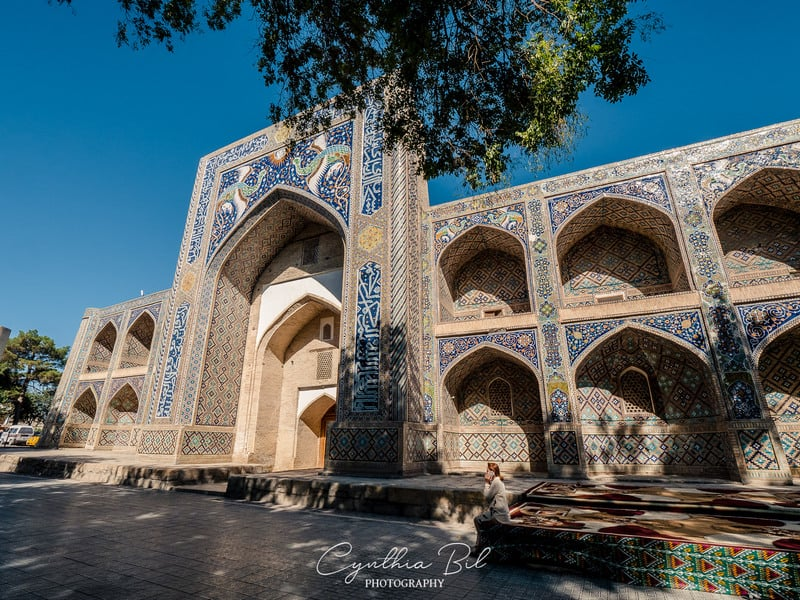 architecture of Bukhara