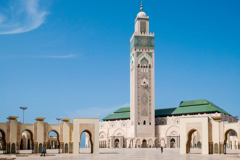 Mosque Hassan II - Best places to visit in Casablanca