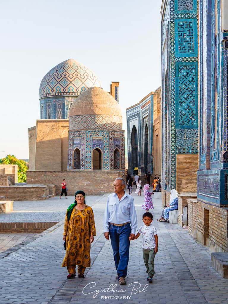 Top places to see in Samarkand - Shah-i-Zinda Samarkand Uzbekistan
