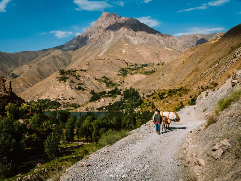 Seven Lakes Tajikistan Fann Mountains