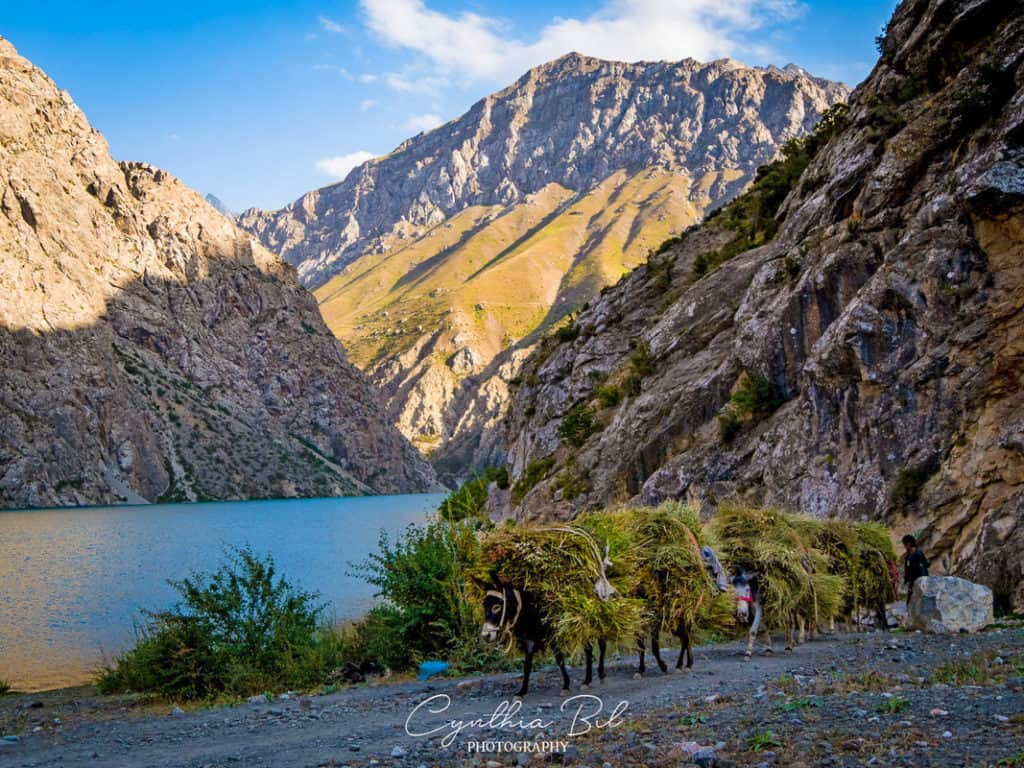 Seven Lakes Tajikistan Fann Mountains