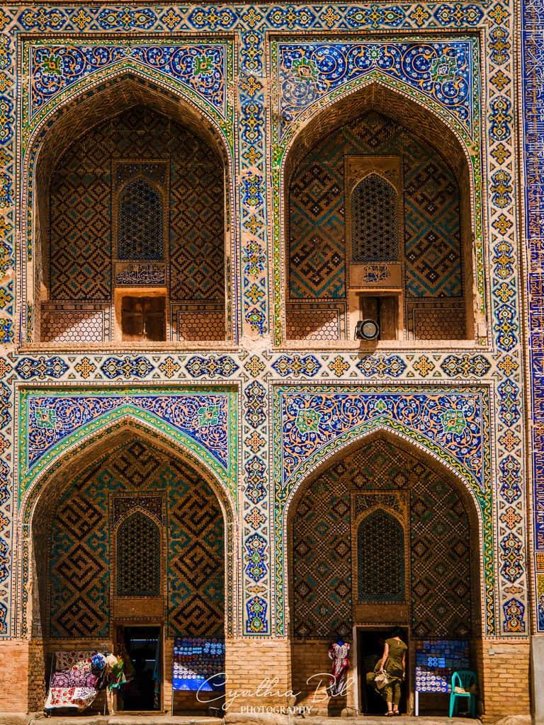 Tilya-Kori Madrasah Registan Samarkand Uzbekistan