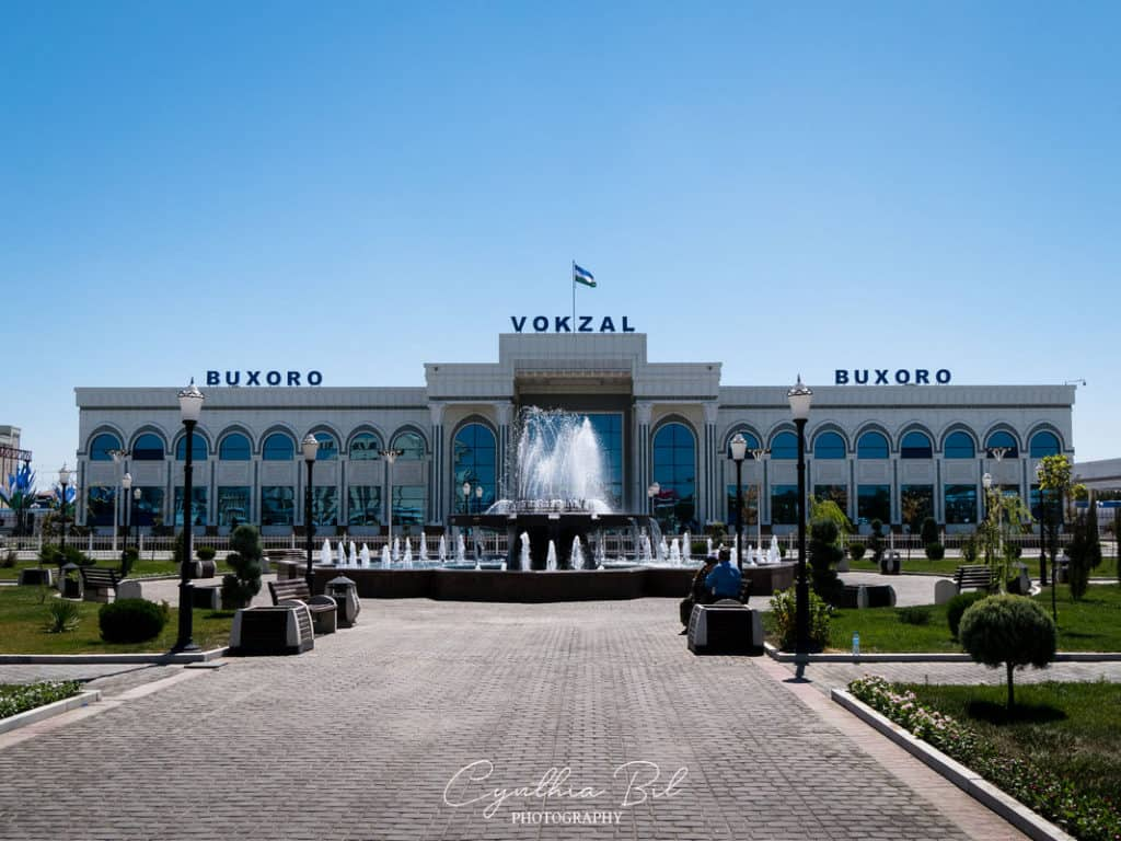 Bukhara train station - Journal of Nomads