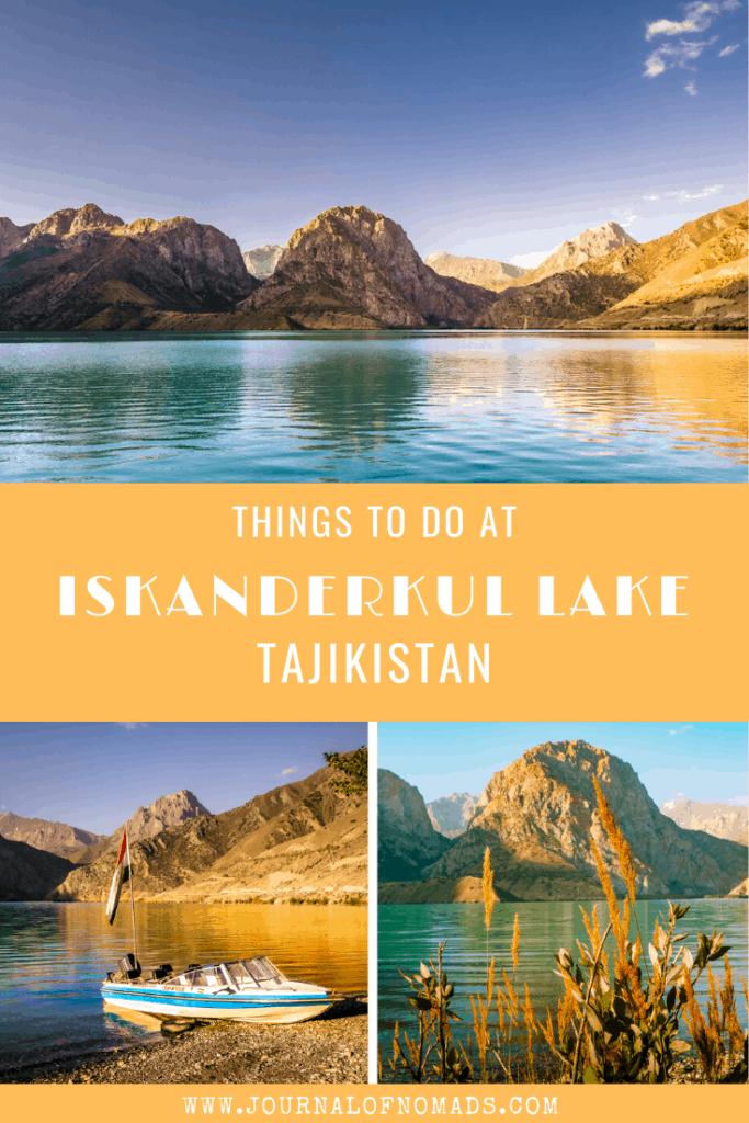 Tajikistan Travel - Iskanderkul Lake - Journal of Nomads