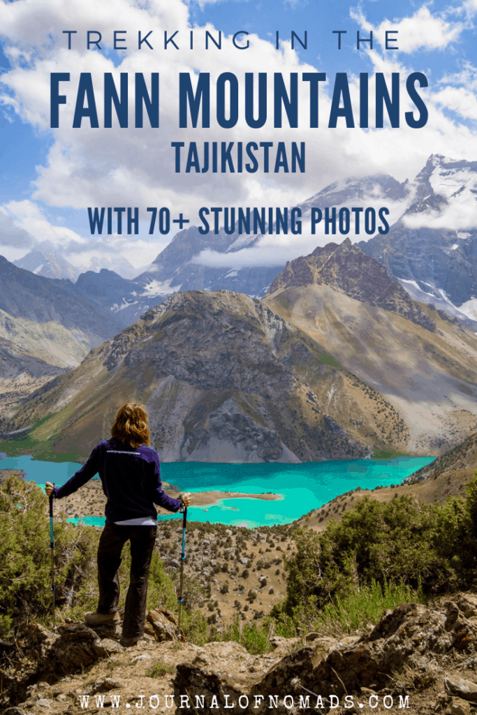 Trekking in the Fann Mountains Tajikistan in 70+ photos - Journal of Nomads