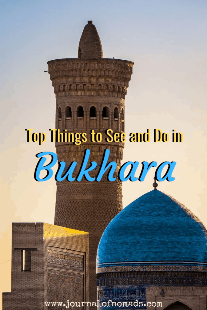 Best activities to do in Bukhara