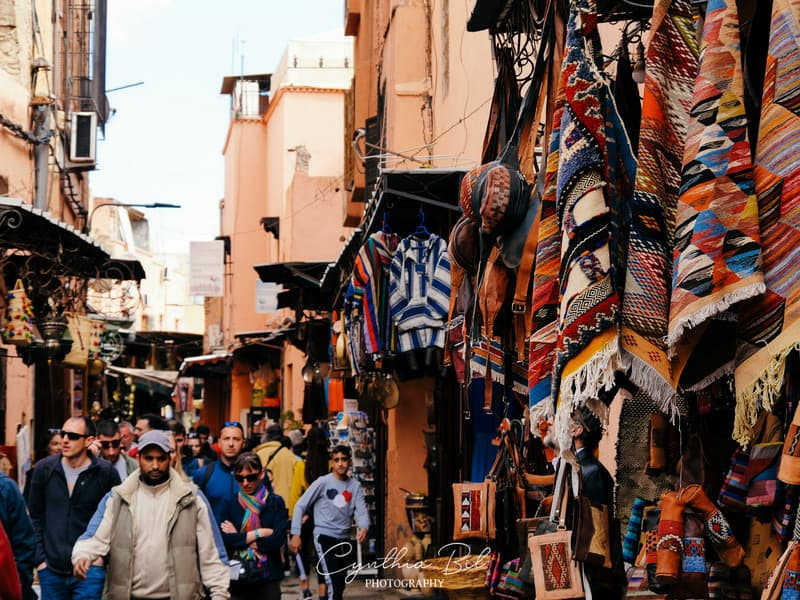 souk alleys - what to do in marrakech