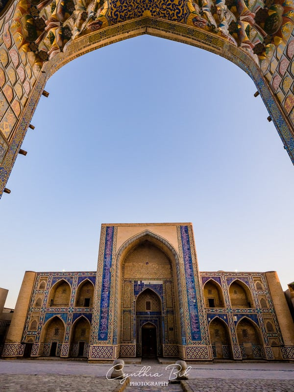 stunning places in Bukhara
