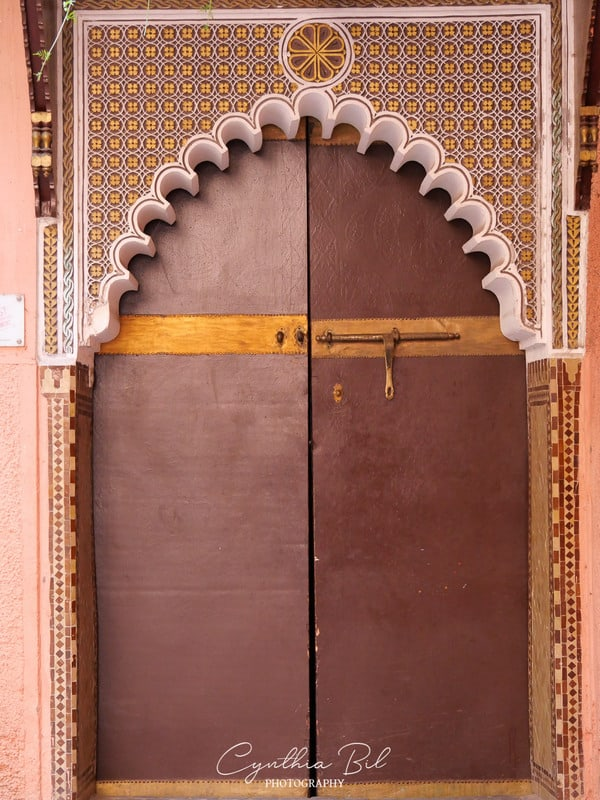 beautiful gates of Marrakech