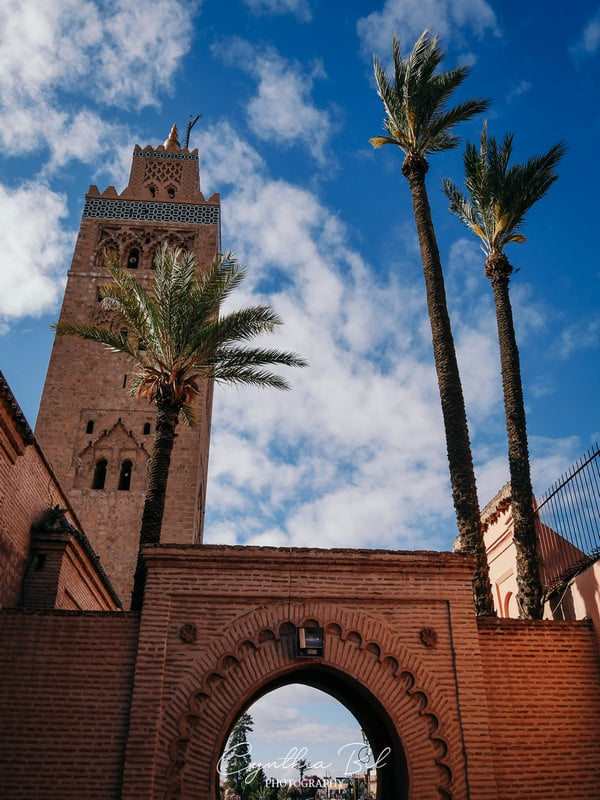 koutoubia - best places to visit in marrakech - moroccan architecture