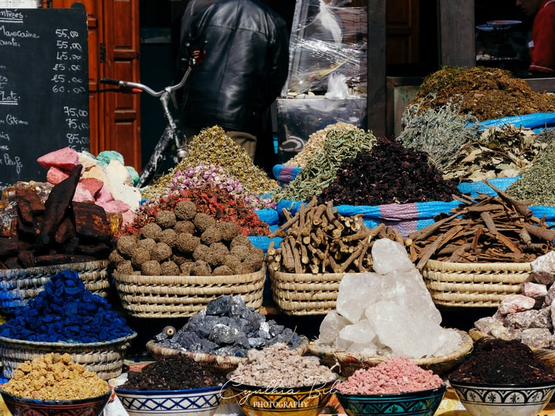 spices - Marrakech market