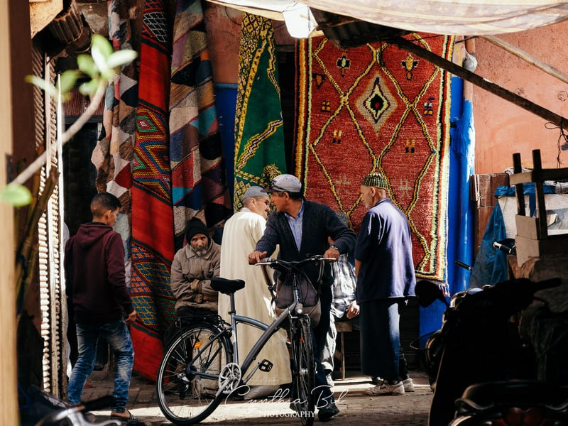 souk of marrakech - market - morocco