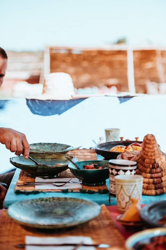 Moroccan cooking lesson in Marrakech