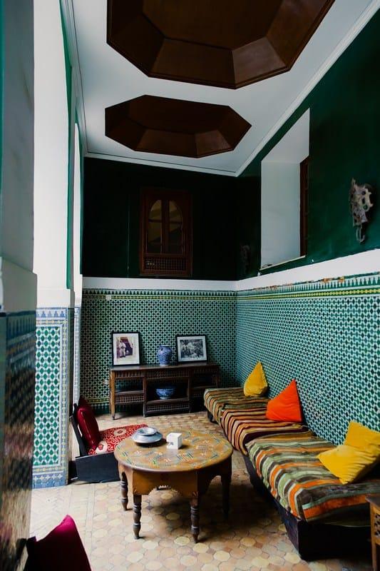 riad interior - marrakech riads