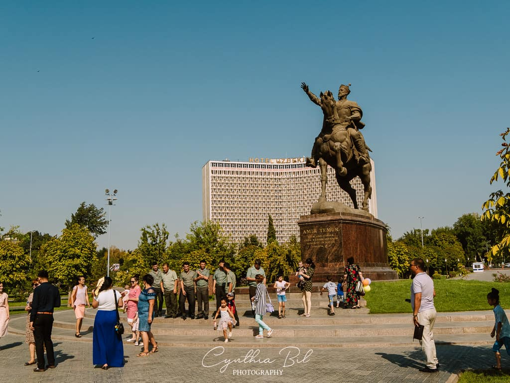 Amir Timur Square Tashkent places of interest