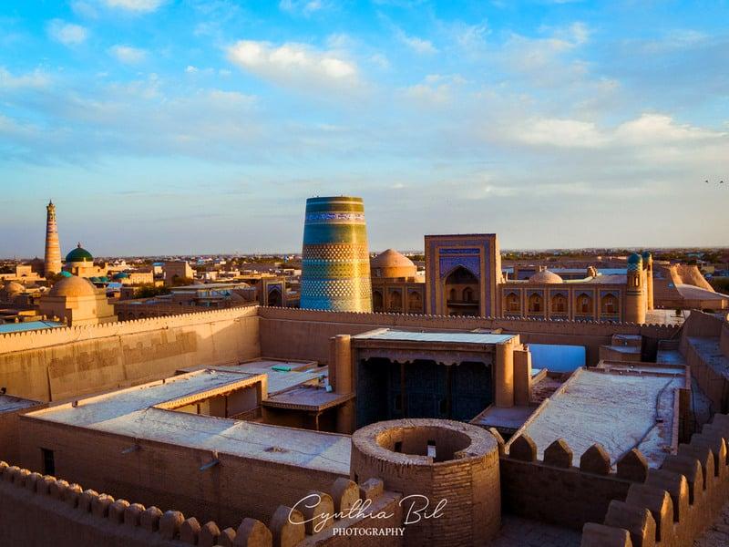 architecture of Khiva - Uzbekistan