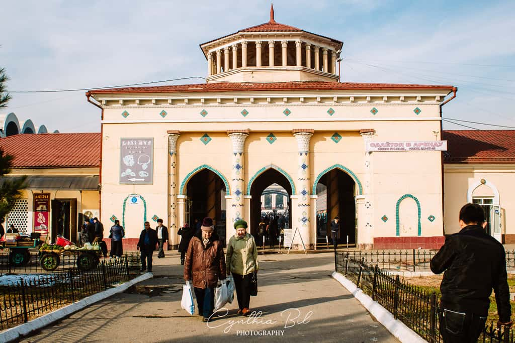 Chorsu Bazaar - places of interest in Tashkent
