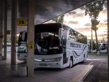 How to get from Bishkek to Tashkent by bus