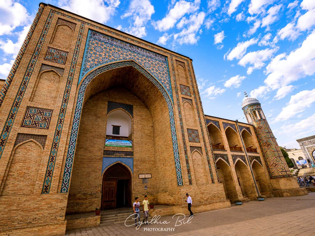 Tashkent's famous Kukeldash madrasah - Uzbekistan