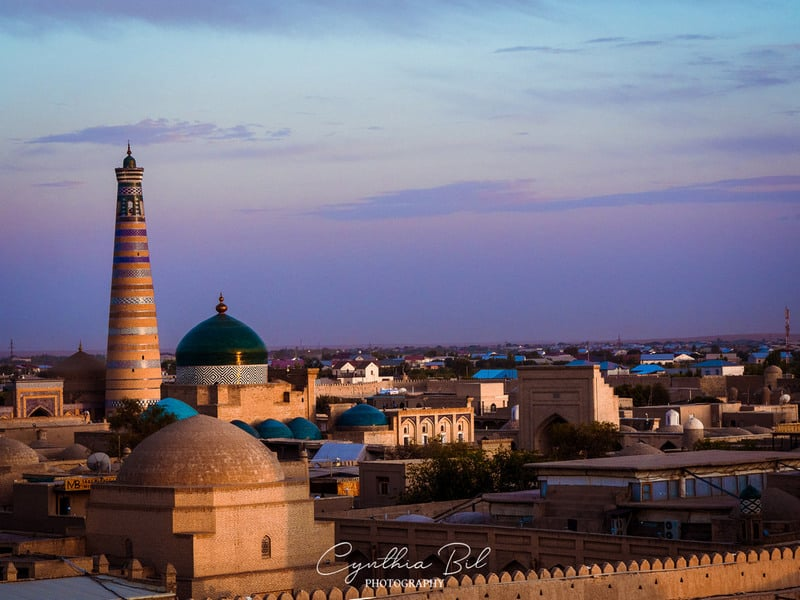 Khiva panoramic view