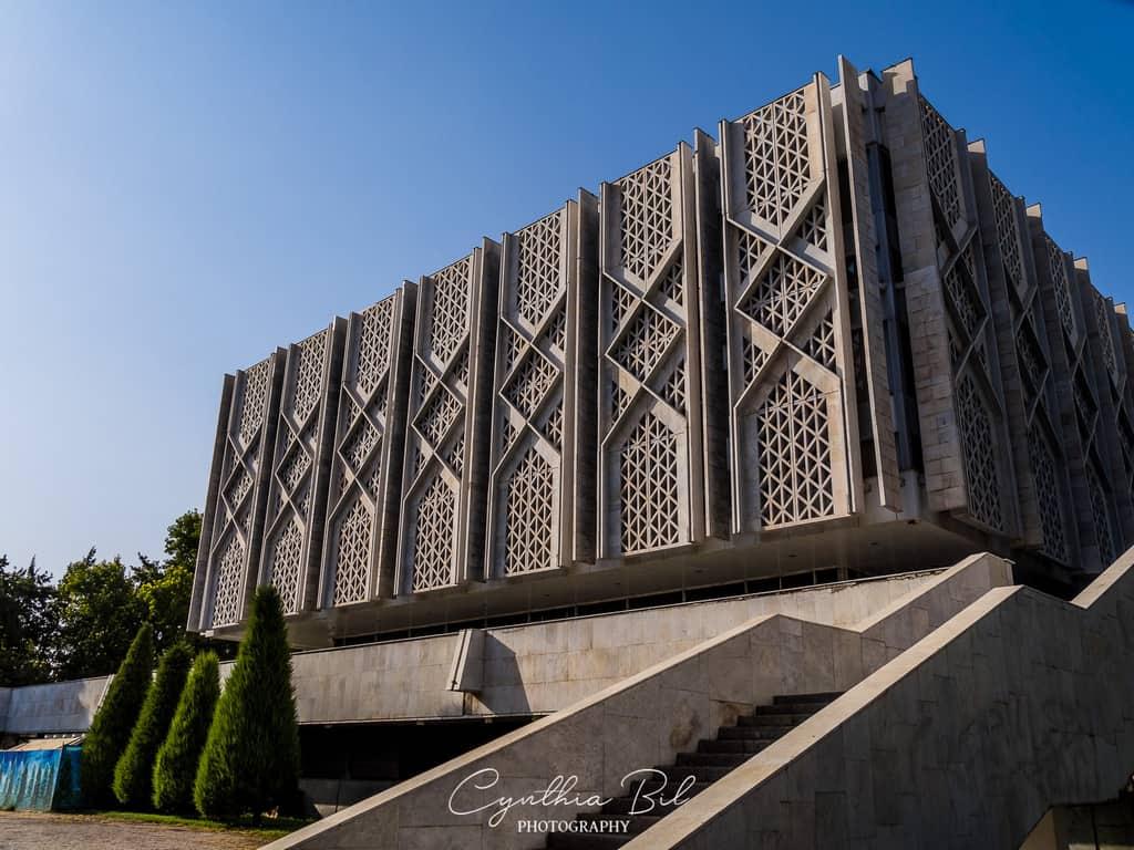 Soviet architecture Uzbekistan Tashkent State Museum of History of Uzbekistan