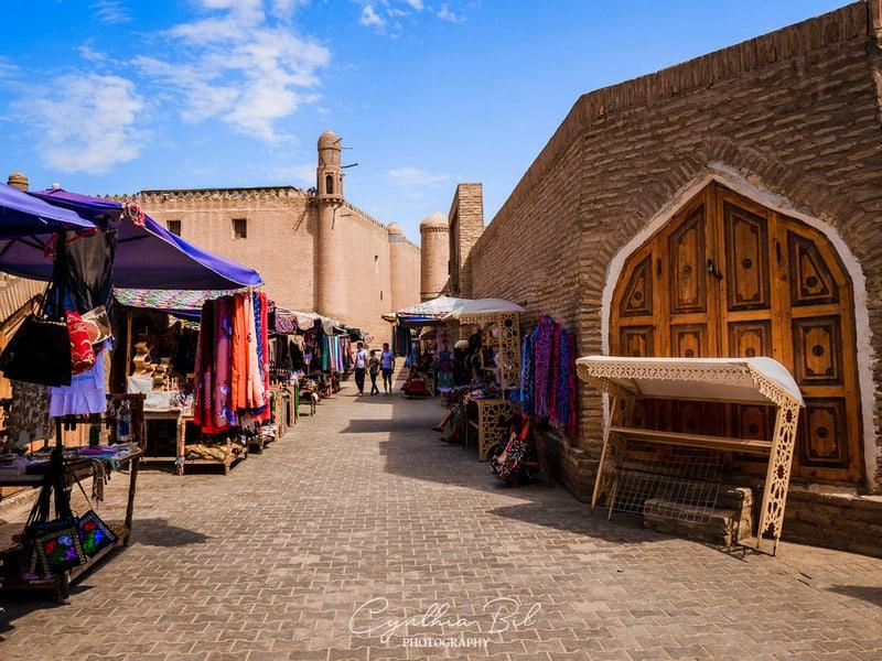 streets of Khiva