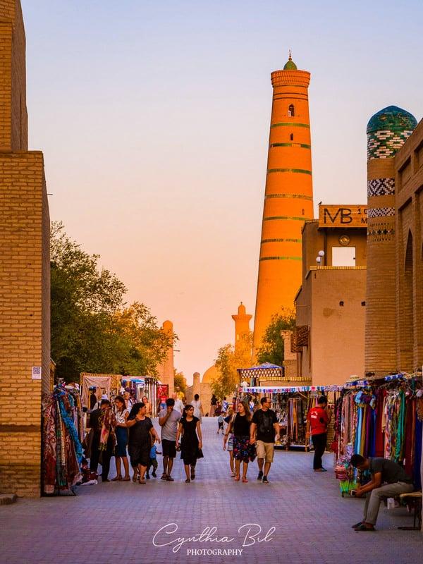 visiting Khiva Uzbekistan