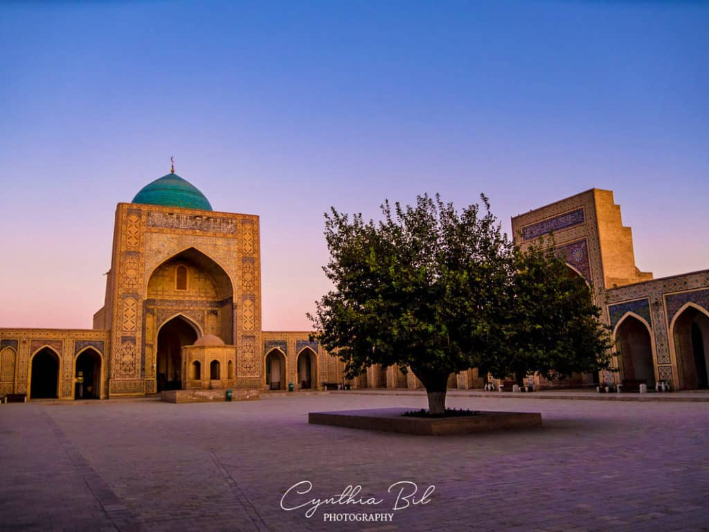 Sunrise Bukhara Poi Kalon Ensemble